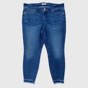 LOFT Jeans - LOFT Plus Modern Skinny Jeans Ankle Fray 16
